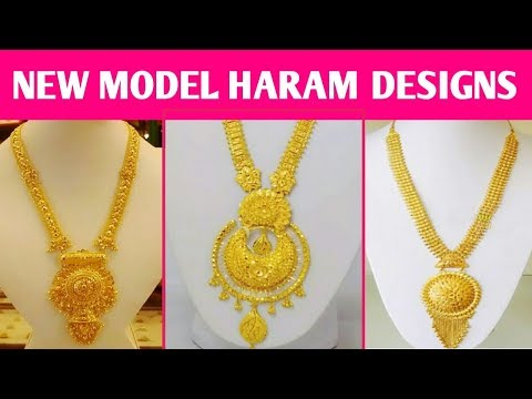 New Model Gold Haram Designs 2018 Latest Gold Jewellery