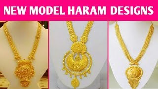 New Model Gold Haram Designs 2018 | Latest Gold Jewellery Collection