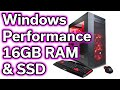 $720 Gaming Computer - Windows Performance - RAM & SSD UPGRADE