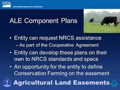USDA-NRCS Indiana Conservation Easements Webinar