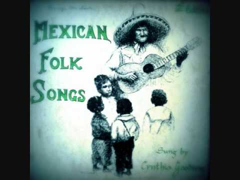 Cynthia Gooding Mexican Folk Songs 1953 LP tracks 1-4