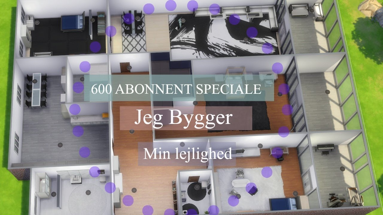 the sims 4 600 abonnent speciale jeg bygger min. Black Bedroom Furniture Sets. Home Design Ideas