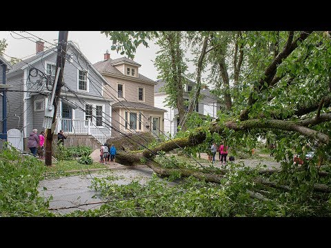 Thousands of Maritimers left without power in wake of Dorian
