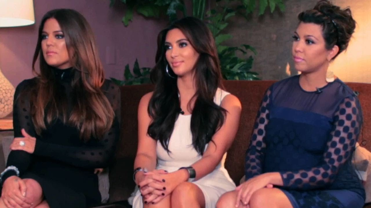 The Kardashian Sisters Talk Fashion Twitter And Business