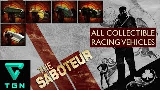 The Saboteur All Collectible Race Cars