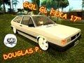 GTA SA   Vw Gol GL Aro 17 + Fixa = Douglas P