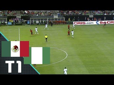México vs Nigeria - Primer Tiempo (Partido Amistoso)