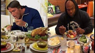 Eat Big To Get Big | What Bodybuilders Eat