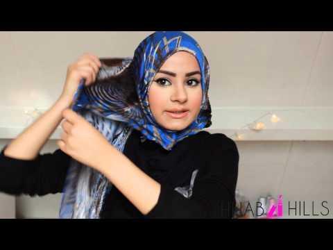 VIDEO: cara memakai hijab tanpa ninja terbaru 2014