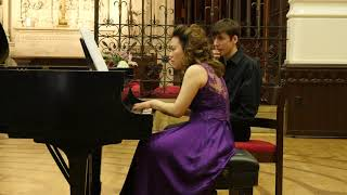 Renaissance Piano Duo (Lan-In Winnie Yang, Tzuyi Zoe Chen) Bolcom Garden of Eden III: Serpent's Kiss