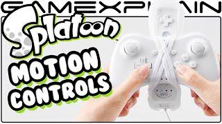 Splatoon - Motion Control Code in Battle Dojo for Wii U Pro Controller