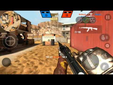 Bullet Force: Buffed AK-47 Gameplay! (Android)