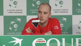 Tennis - Coupe Davis : Darcis «Tsonga m'a surclassé»