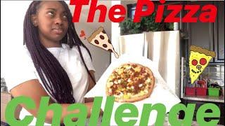 The Pizza Challenge w/ Dana Renee, Nayla & Aaliyah (sooooo funny!!!!)