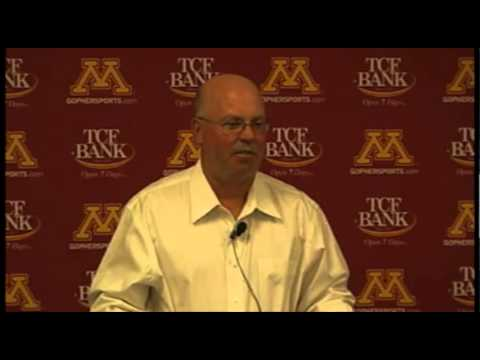 Gophers' Jerry Kill Ps UNLV: Press Conference Highlights