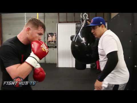 Canelo vs. Chavez Jr. - Canelo Alvarez's Best training highlights for Chavez Jr.