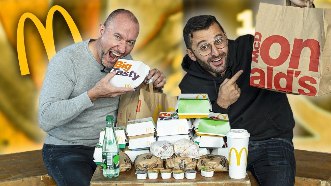 Download On a acheté tous les burgers de la carte McDo !