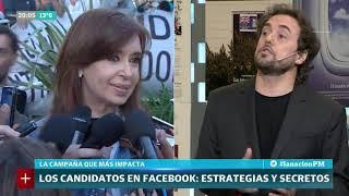 La campaña que más impacta: Cómo miden Macri y Cristina Kirchner en Facebook