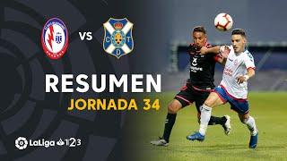 Resumen de CF Rayo Majadahonda vs CD Tenerife (1-3)