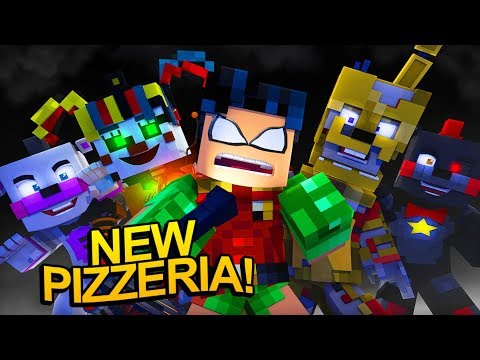 Teen Titans' New Five Nights at Freddy's 6 Pizzeria! (Minecraft fnaf Roleplay)