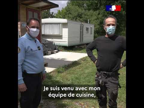 #Immersion avec ladjudant Vincent, directeur du restaurant de la gendarmerie de Vannes !