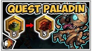 Hearthstone: ZERO LOSSES - Quest Paladin Rank 5 To 3 - Part 2- Saviors Of Uldum