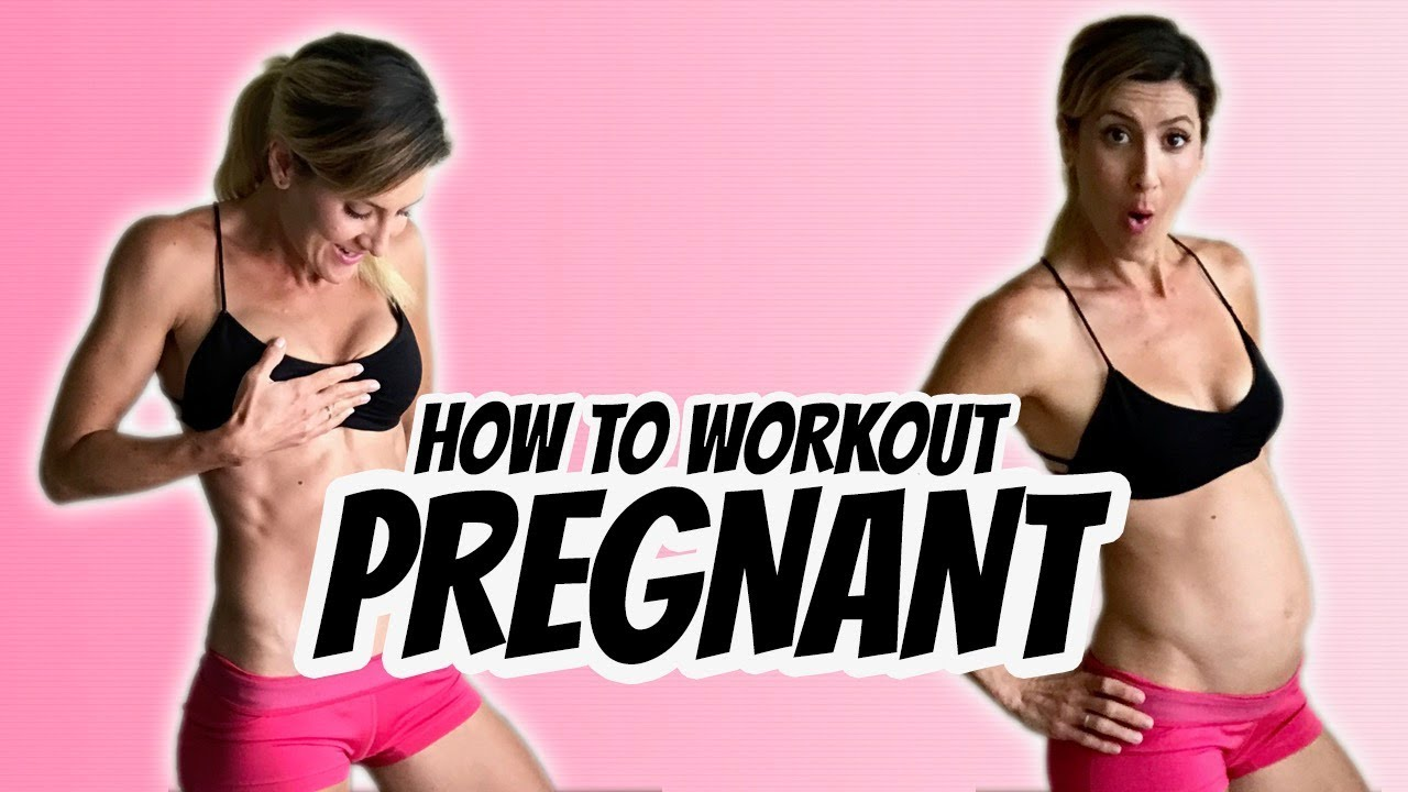 How to Workout Pregnant [Don't Do These Exercises ...