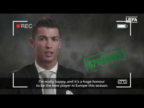 Cristiano Ronaldo - UEFA Best Player 2016 | Post Interview