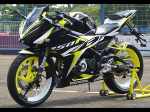 Cah Gagah Video Modifikasi Motor Honda All New Cbr150r Keren