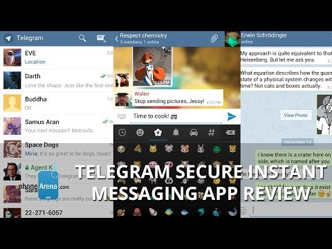 Telegram secure instant messaging app review