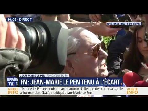 """Jean-Marie Le Pen : """"Marine Le Pen doit démissionner"""""""