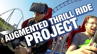 Augmented Thrill Ride Project - Pioneering Oculus Rift VR rides on real roller coasters