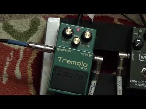 BOSS TR-2 Tremolo Pedal Overview and Demo