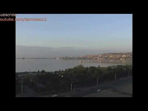 Azerbaijan Baku Park Caspian - youtube.com/tanvideo11