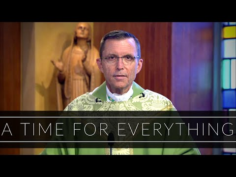 A Time For Everything | Homily: Bishop Robert Reed