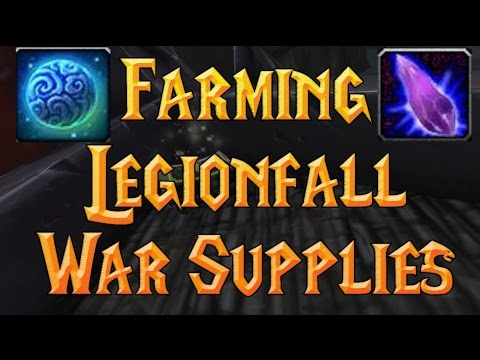 Legionfall War Supply farm (Best Wormtongue Cache Areas Without Flying) 7.2