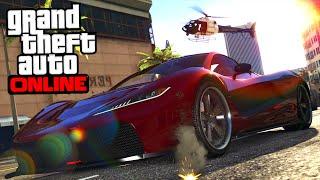 """DLC """"LE CRIME PAIE"""" PARTIE 2 ! ( VOITURES, MOTO, ARMES .. ) - GTA 5 ONLINE"""