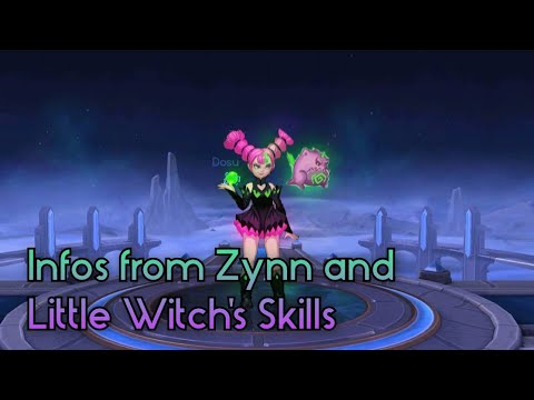 New Information for Zynn and Little Witch's Skills (Mobile Legends)