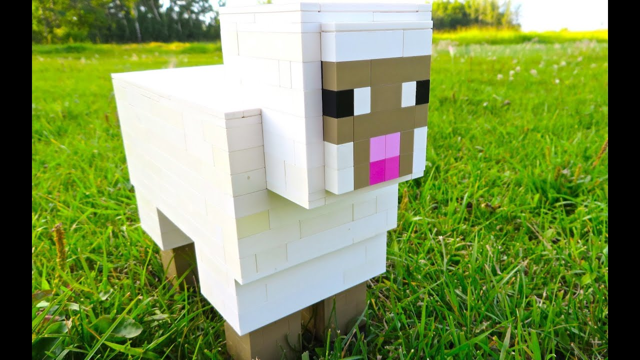LEGO Sheep - Minecraft - YouTube