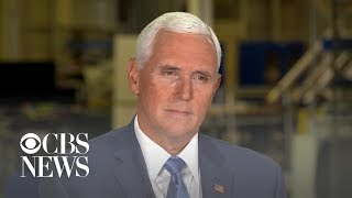Vice President Mike Pence's full interview with Major Garrett