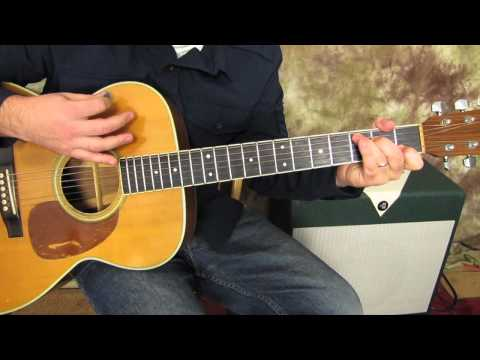 Easy Guitar Lessons  Centerfold  The J Geils Band   Acoustic Guitar song beginner