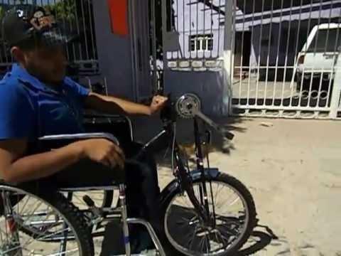 Silla de ruedas con pedales youtube - Ruedas para sillas de ruedas ...