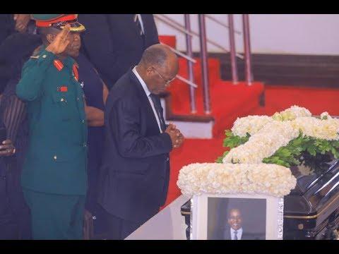 LIVE: Mwili wa Dr. Mengi Umewasili Viwanja vya Karimjee kwa ajili ya Kut...