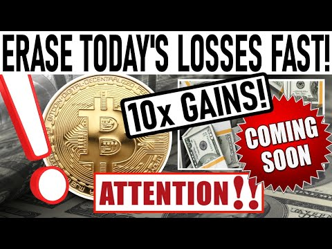 ERASE TODAY'S LOSSES FAST! 10x GAINS IN 2 MONTHS! GRAYSCALE LOADING UP ON CHAINLINK!