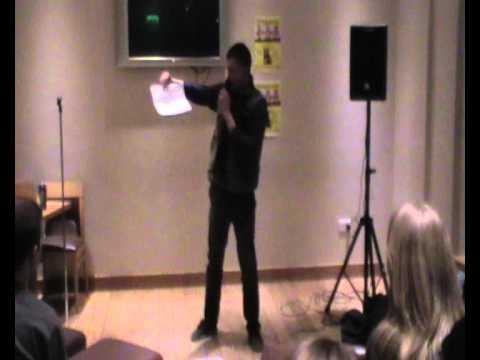 €2 Comedy at the Pav (17-2-10) Part 3: Aaron Heffernan