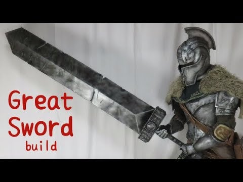 Great Sword tutorial [How to make props]