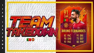 You WON'T believe this happened!!! Headliners Bruno Fernandes FIFA 21 Team Takedown