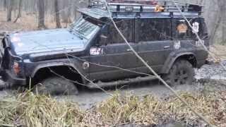 Patrol axles laplander.патрол на мостах Volvo c 303
