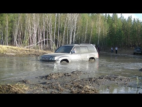 Снятие и ремонт стартера на Lexus LX 470 Land Cruiser 100 после водных процедур