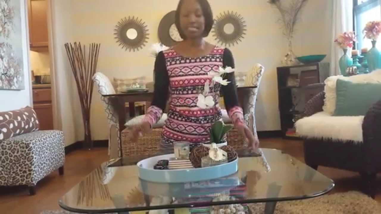 Coffee Table styling on a budget - YouTube